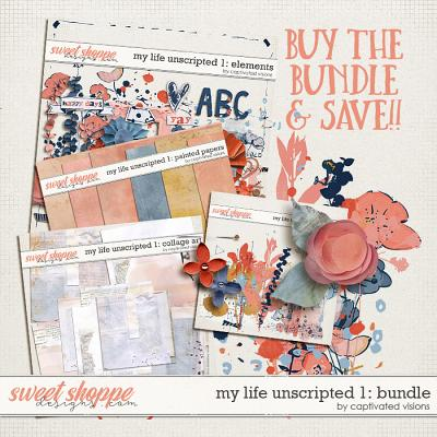 My Life Unscripted 1: Bundle by Captivated Visions