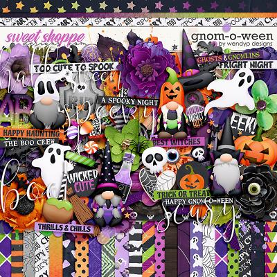Gnom-o-ween by WendyP Designs