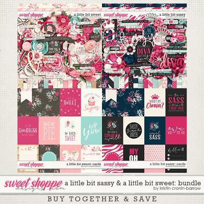 A little bit Sassy and A little bit Sweeter bundle by Kristin Cronin-Barrow
