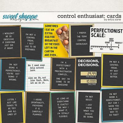 Control Enthusiast: Cards by Erica Zane