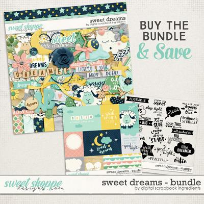 Sweet Dreams Bundle by Digital Scrapbook Ingredients