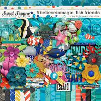 #believeinmagic: Fish Friends by Amber Shaw & Studio Flergs