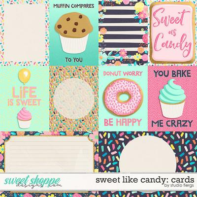 Sweet Like Candy: CARDS by Studio Flergs