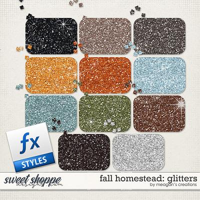 Fall Homestead: Glitters by Meagan's Creations