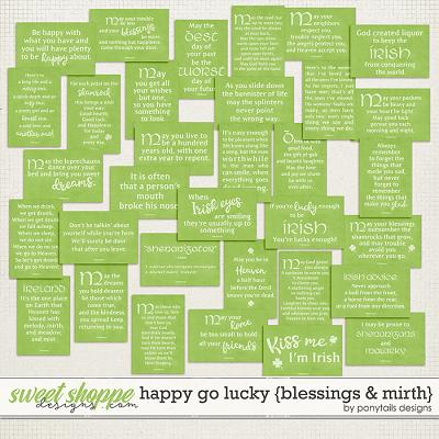 Happy Go Lucky Blessings & Mirth by Ponytails