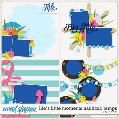 Life's Little Moments Nautical: Templates by Grace Lee