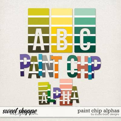 Paint Chip Alphas by Studio Basic