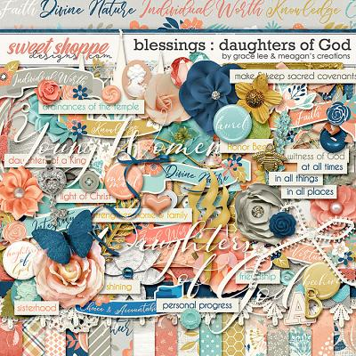 Blessings: Daughters of God by Grace Lee and Meagan's Creations
