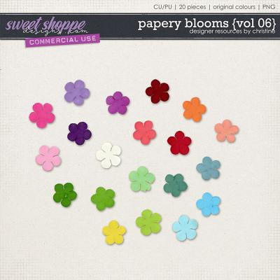 Papery Blooms {Vol 06} by Christine Mortimer