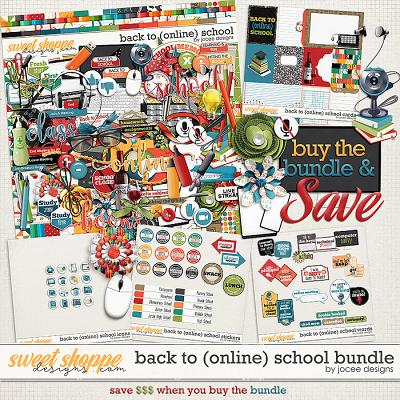 Back to (online) School Bundle by JoCee Designs