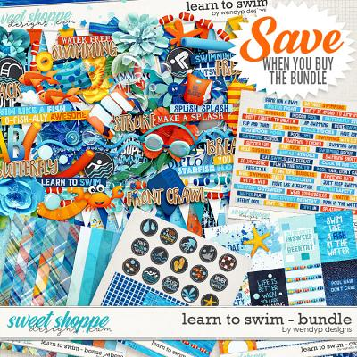 Learn to swim - Bundle & *FWP* by WendyP Designs