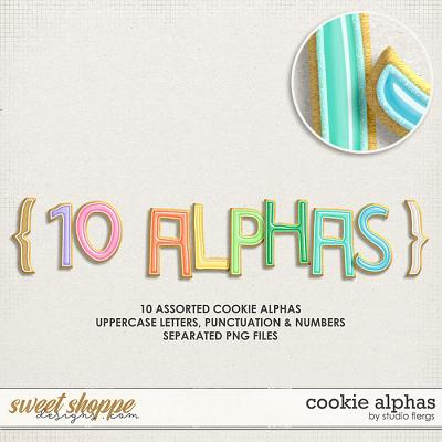 Cookie Alphas by Studio Flergs