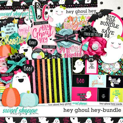 Hey Ghoul Hey Bundle by Meghan Mullens