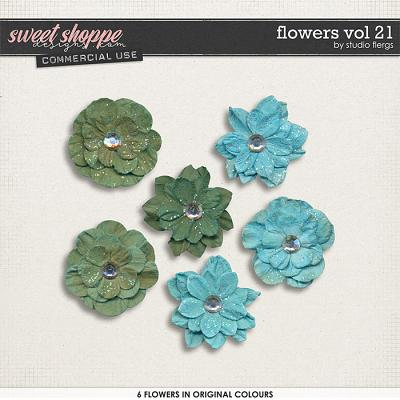Flowers VOL 21 by Studio Flergs