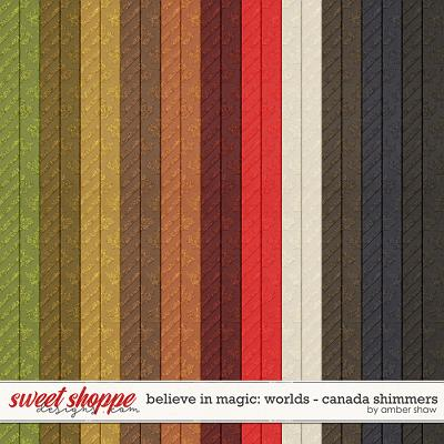 Belive in Magic: Worlds Canada Shimmers by Amber Shaw