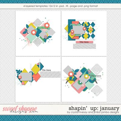 Shapin' Up: January by Crystal Livesay and Jimbo Jambo Designs