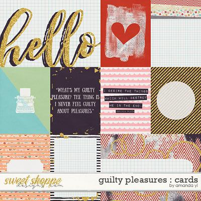 Guilty Pleasures : Cards by Amanda Yi