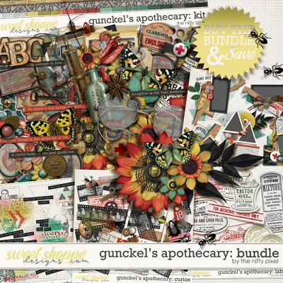 GUNCKEL'S APOTHECARY BUNDLE | by The Nifty Pixel
