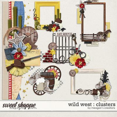 Wild West : Clusters by Meagan's Creations