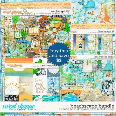 Beachscape Bundle by Studio Basic Little Butterfly Wings