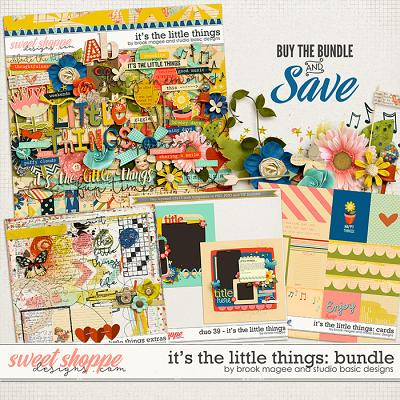 It's The Little Things Bundle by Brook Magee and Studio Basic
