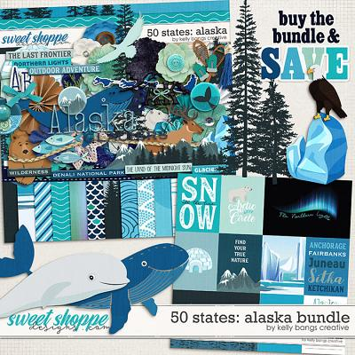 50 States: Alaska Bundle by Kelly Bangs Creative