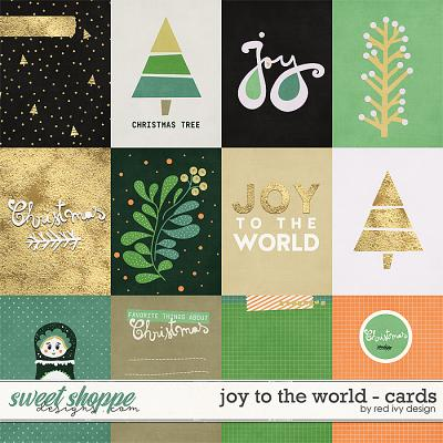 Joy To The World - Cards by Red Ivy Design