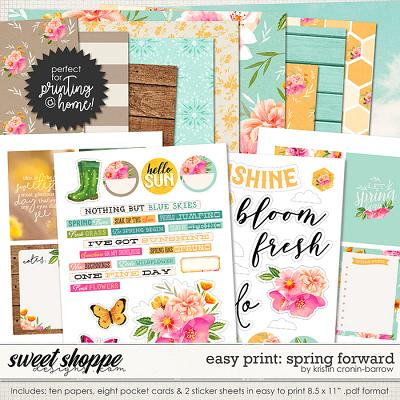 Easy Print: Spring Forward by Kristin Cronin-Barrow