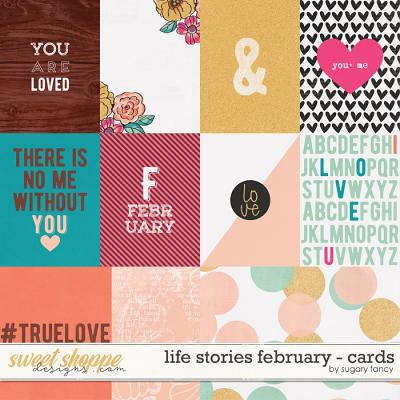 2016 Life Stories - February Cards by Sugary Fancy