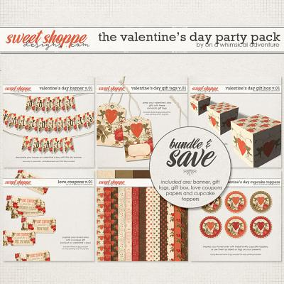 The Valentine's Day Party Pack by On A Whimsical Adventure