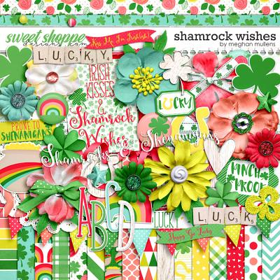 Shamrock Wishes-Kit by Meghan Mullens