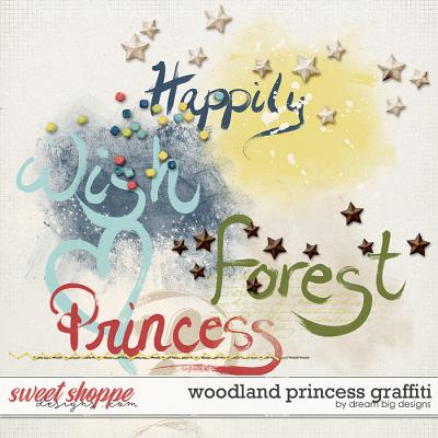 Woodland Princess Graffiti by Dream Big Designs