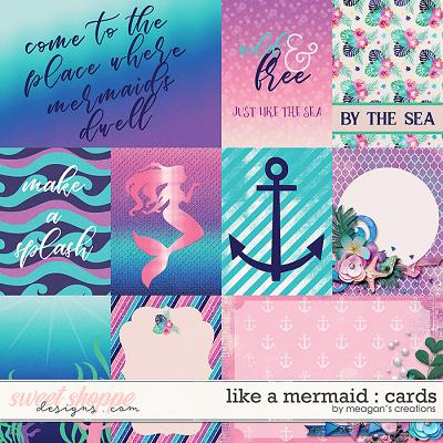Like a Mermaid : Cards by Meagan's Creations