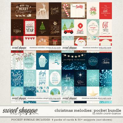 Christmas Melodies: Pocket Bundle by Kristin Cronin-Barrow