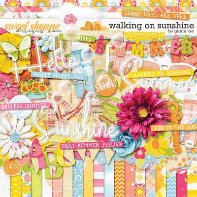 Walking On Sunshine by Grace Lee
