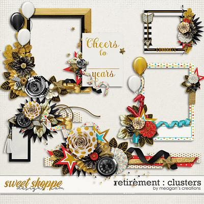Retirement : Clusters by Meagan's Creations