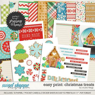 Remember the Magic: CHRISTMAS TREATS- EZ PRINT by Studio Flergs