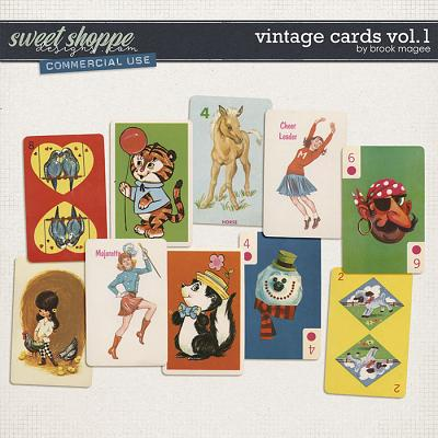 Vintage Cards Vol.1 - CU - by Brook Magee