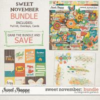 Sweet November: Bundle by Blagovesta Gosheva