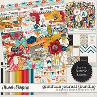 Gratitude Journal Bundle by Digilicious Designs & Tickled Pink Studio