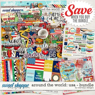 Around the world: USA - bundle by Amanda Yi and WendyP Designs