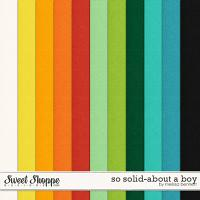 So Solid-About a Boy by Melissa Bennett