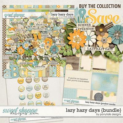 Lazy Hazy Days Bundle by Ponytails