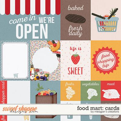 Food Mart: Cards by Meagan's Creations
