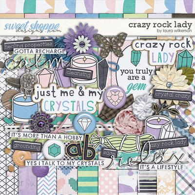 Crazy Rock Lady: Kit by Laura Wilkerson