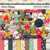 Summer Nights by Digital Scrapbook Ingredients