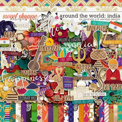 Around the world: India by Amanda Yi & WendyP Designs