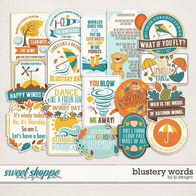 Blustery Words by LJS Designs