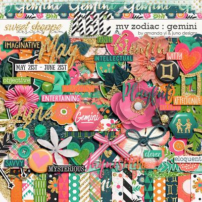 My Zodiac - Gemini by Amanda Yi & Juno Designs