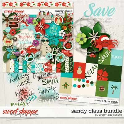 Sandy Claus Bundle by Dream Big Designs